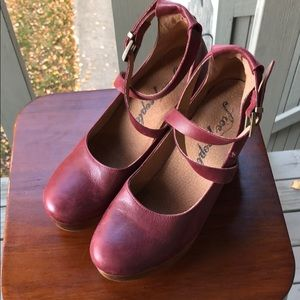 Free people buena vista clog size 39